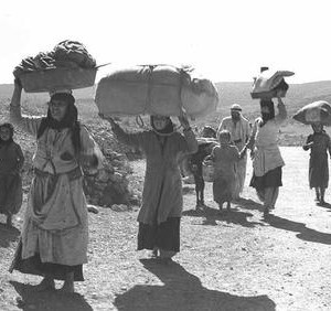 Palestinians Refugees On The Move 10-30-1948 Jalil
